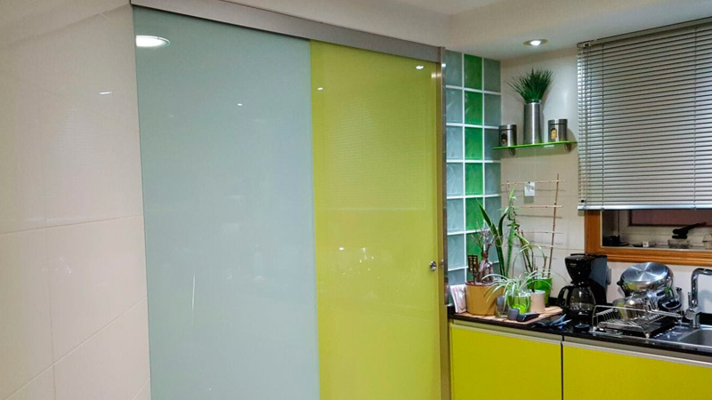 Puertas de cristal de seguridad para interiores en pontevedra