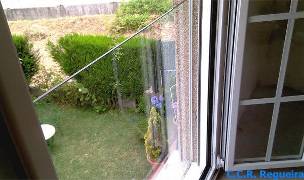 Barandilla de cristal para balcones, luz y vistas