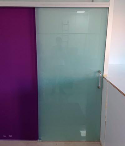 Mamparas de cristal de seguridad de color para divisiones
